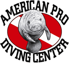 American Pro Manatee Snorkel and Diving Center logo